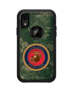 Green Camo Marine Corps Otterbox Defender iPhone Skin