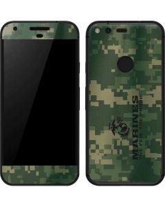 Green Camo The Few The Proud Google Pixel Skin