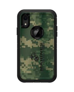 Green Camo The Few The Proud Otterbox Defender iPhone Skin