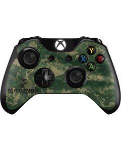 Green Camo The Few The Proud Xbox One Controller Skin
