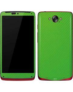 Green Carbon Fiber Motorola Droid Skin