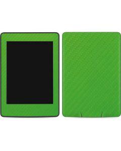 Green Carbon Fiber Amazon Kindle Skin