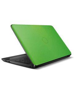Green Carbon Fiber HP Notebook Skin