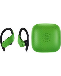 Green Carbon Fiber PowerBeats Pro Skin