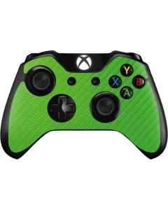 Green Carbon Fiber Xbox One Controller Skin