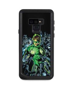 Green Lantern and Villains Galaxy Note 9 Waterproof Case