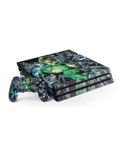 Green Lantern and Villains PS4 Pro Bundle Skin