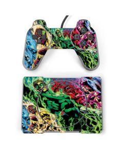Green Lantern Defeats Sinestro PlayStation Classic Bundle Skin