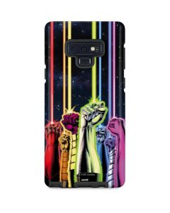 Green Lantern Fists in the Air Galaxy Note 9 Pro Case