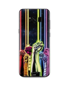 Green Lantern Fists in the Air Galaxy S8 Plus Skin