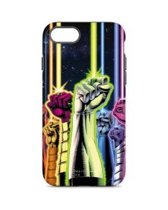 Green Lantern Fists in the Air iPhone 7 Pro Case