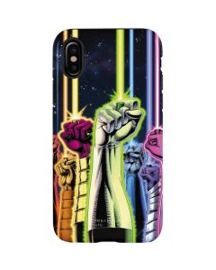 Green Lantern Fists in the Air iPhone X Pro Case