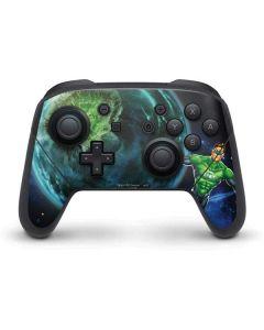 Green Lantern in Space Nintendo Switch Pro Controller Skin
