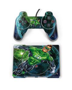 Green Lantern in Space PlayStation Classic Bundle Skin