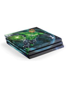 Green Lantern in Space PS4 Pro Console Skin