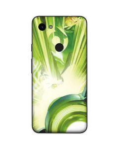 Green Lantern Lamp Google Pixel 3a Skin