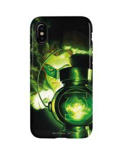 Green Lantern Lamp iPhone X Pro Case