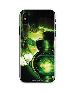 Green Lantern Lamp iPhone XS Max Skin