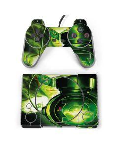 Green Lantern Lamp PlayStation Classic Bundle Skin