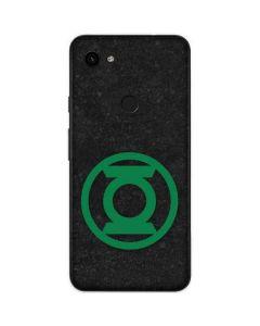 Green Lantern Logo Black Google Pixel 3a Skin