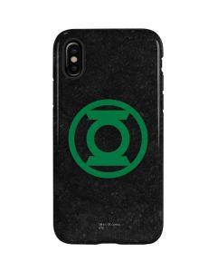 Green Lantern Logo Black iPhone XS Pro Case