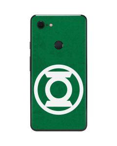 Green Lantern Logo Green Google Pixel 3 XL Skin