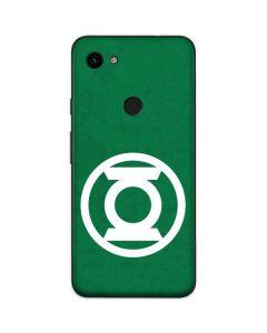 Green Lantern Logo Green Google Pixel 3a Skin