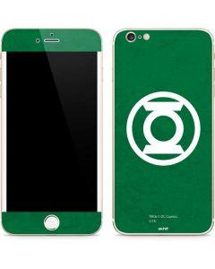 Green Lantern Logo Green iPhone 6/6s Plus Skin