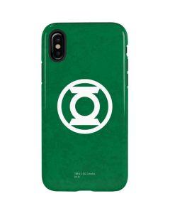 Green Lantern Logo Green iPhone X Pro Case