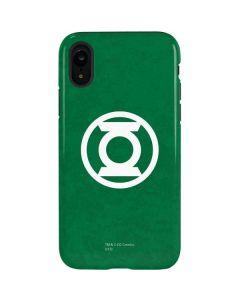 Green Lantern Logo Green iPhone XR Pro Case