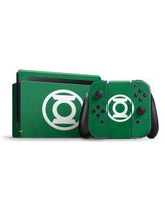 Green Lantern Logo Green Nintendo Switch Bundle Skin