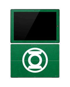 Green Lantern Logo Green Surface Pro 3 Skin