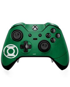Green Lantern Logo Green Xbox One Elite Controller Skin