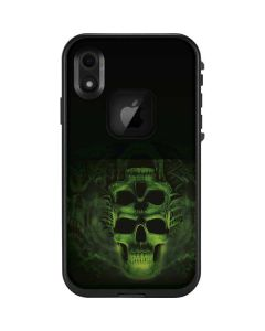 Green Skulls LifeProof Fre iPhone Skin