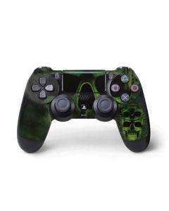 Green Skulls PS4 Pro/Slim Controller Skin