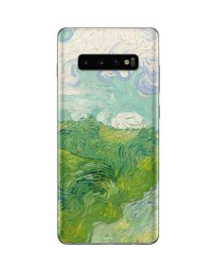 Green Wheat Fields by Vincent van Gogh Galaxy S10 Plus Skin