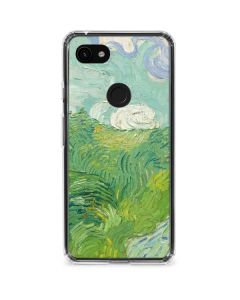 Green Wheat Fields by Vincent van Gogh Google Pixel 3a Clear Case