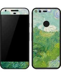 Green Wheat Fields by Vincent van Gogh Google Pixel Skin
