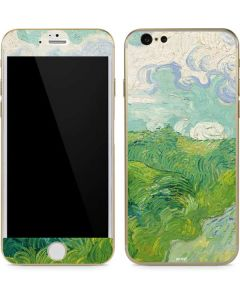 Green Wheat Fields by Vincent van Gogh iPhone 6/6s Skin