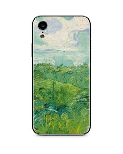 Green Wheat Fields by Vincent van Gogh iPhone XR Skin