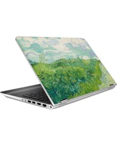 Green Wheat Fields by Vincent van Gogh HP Pavilion Skin