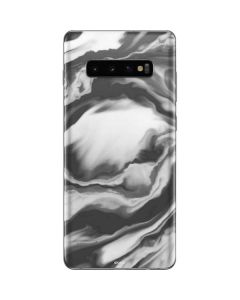 Grey Marble Ink Galaxy S10 Plus Skin