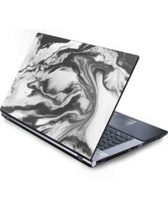 Grey Marble Ink Generic Laptop Skin