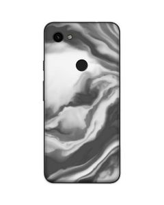 Grey Marble Ink Google Pixel 3a Skin