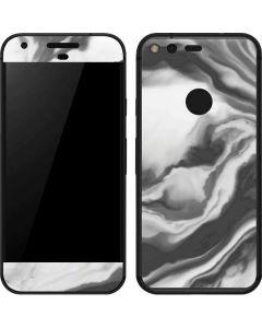 Grey Marble Ink Google Pixel Skin