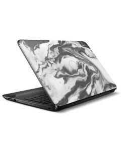 Grey Marble Ink HP Notebook Skin