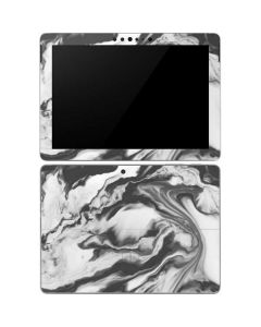 Grey Marble Ink Surface Go Skin