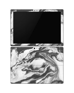 Grey Marble Ink Surface Pro 6 Skin