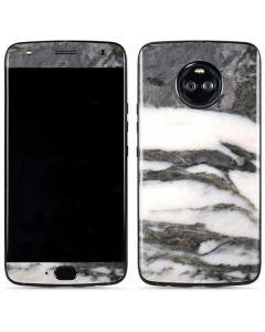 Grey Marbling Moto X4 Skin