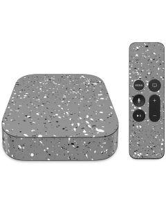Grey Speckle Apple TV Skin